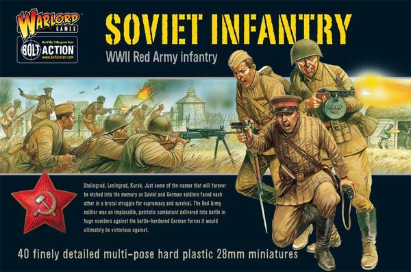 Infantry, Soviet Army
