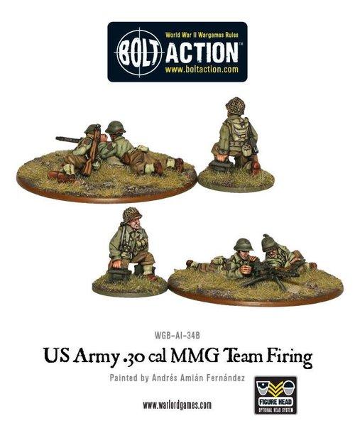 30 Cal MMG team US Army