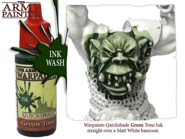 Green Tone Ink, Army Painter Shade
