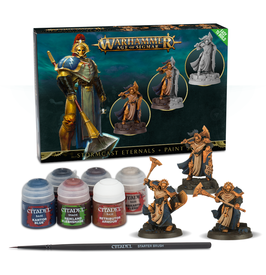 Stormcast Paint Set, Age of Sigmar