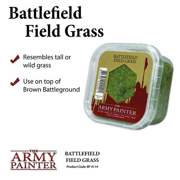 Battlefield Field Grass, Army Painter