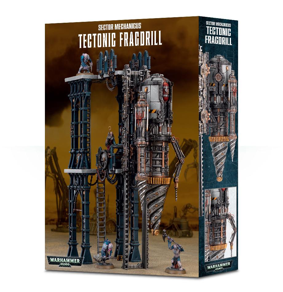 Tectonic Fragdrill, Terrain