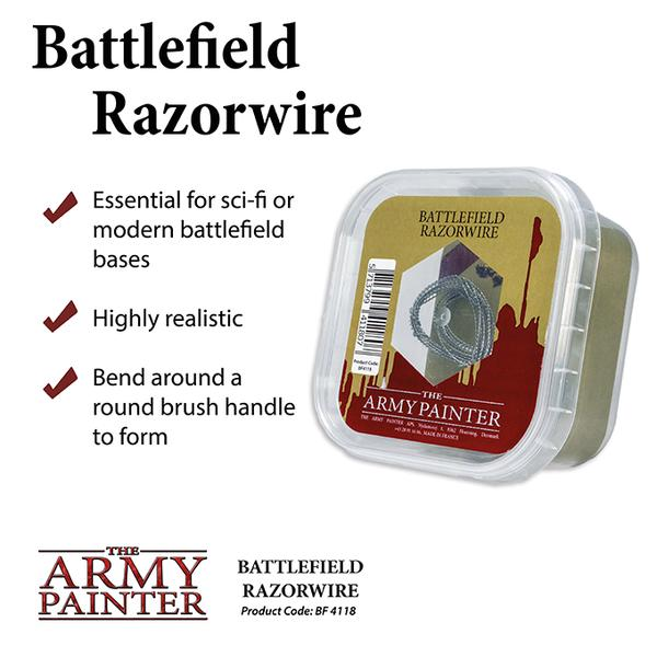 Battlefield Razorwire, Army Painter