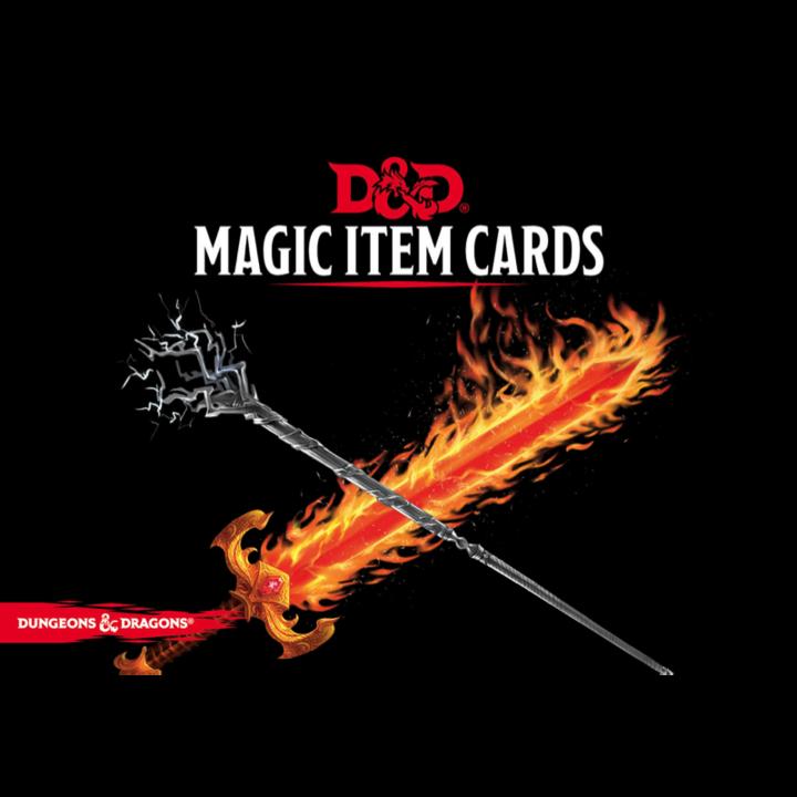 Magic Item Cards, D&D