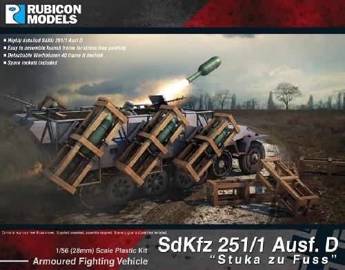 SdKfz 251/1 Ausf. D Stuka zu Fuss, Rubicon Models