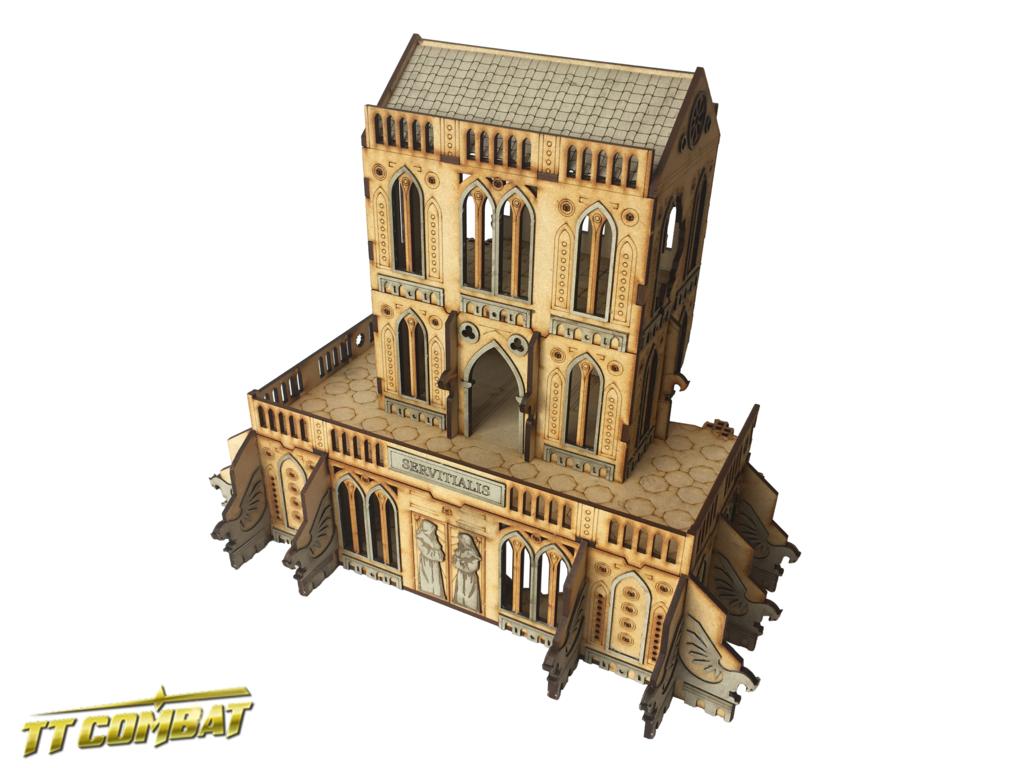 Gothic Ruined Servitialis, TTCombat