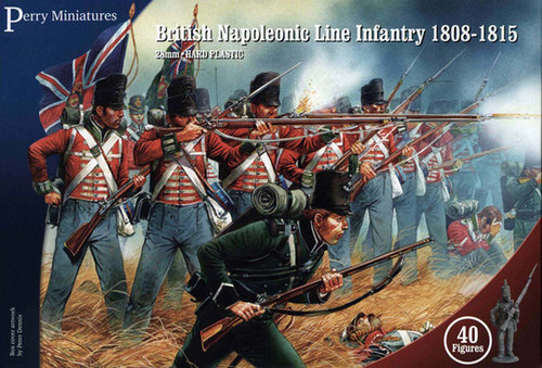 British Napoleonic Line Infantry