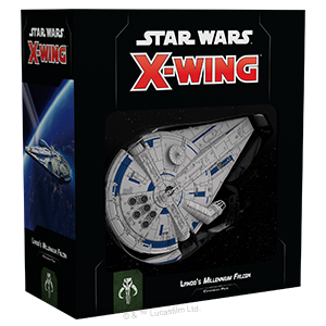Lando's Millennium Falcon Expansion Pack, Star Wars X-Wing