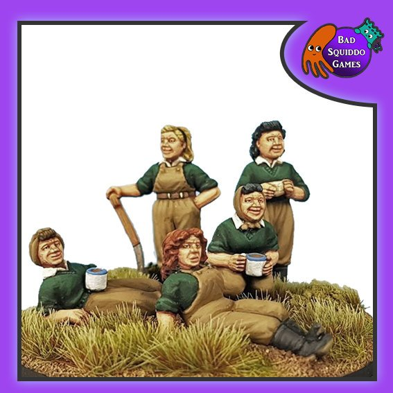 Women's Land Army (Picnic), Bad Squiddo Games