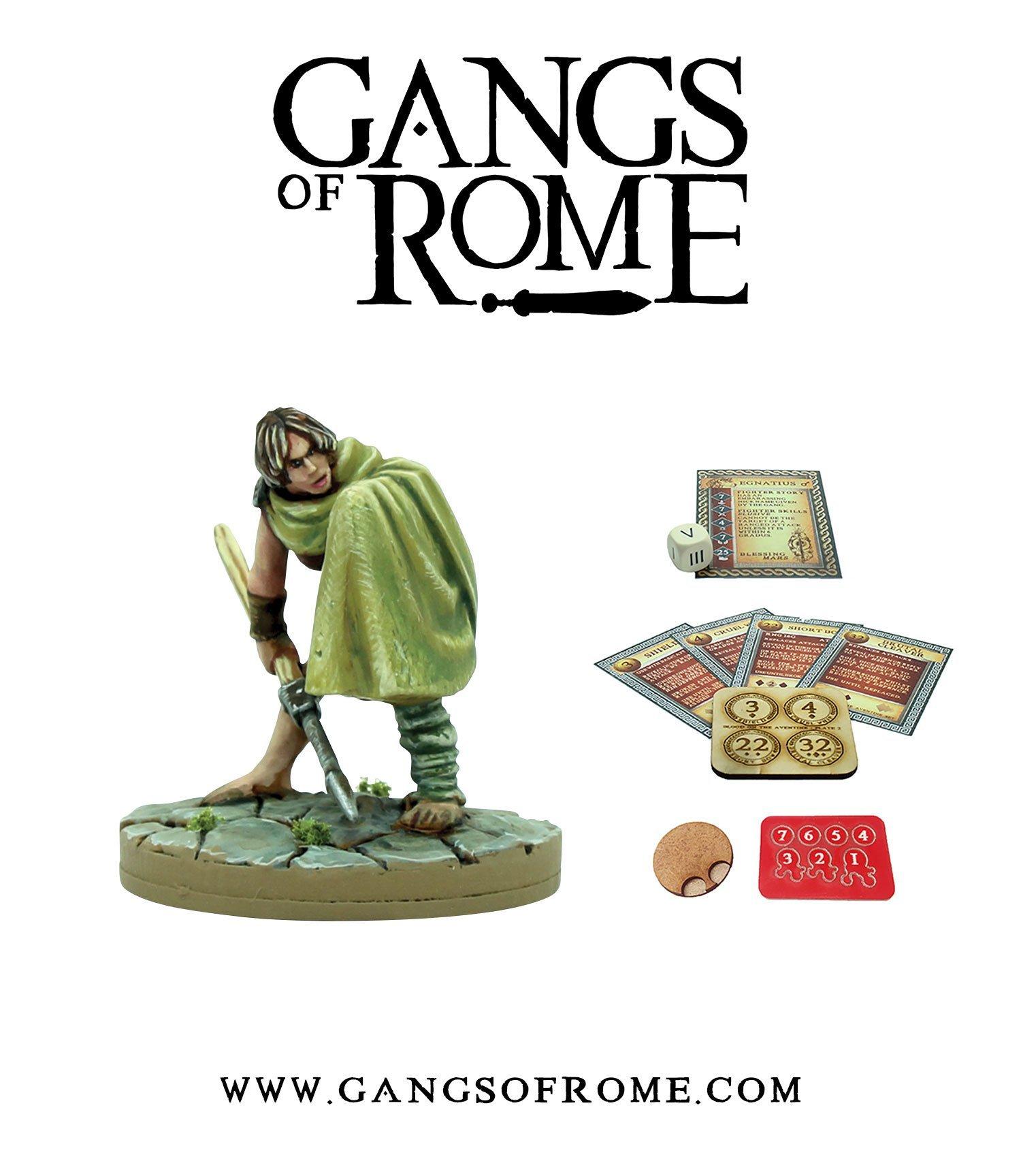 Fighter Quintusdecimus, Gangs of Rome