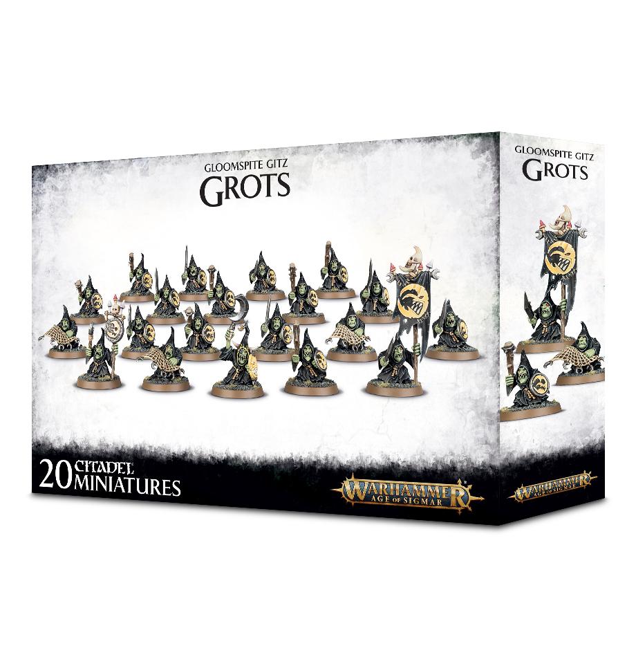 Shootas, Gloomspite Gitz Grots