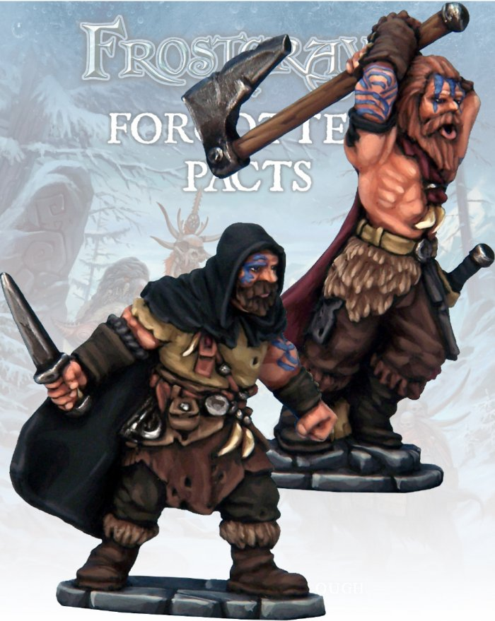 Barbarian Thief and Berserker, Frostgrave