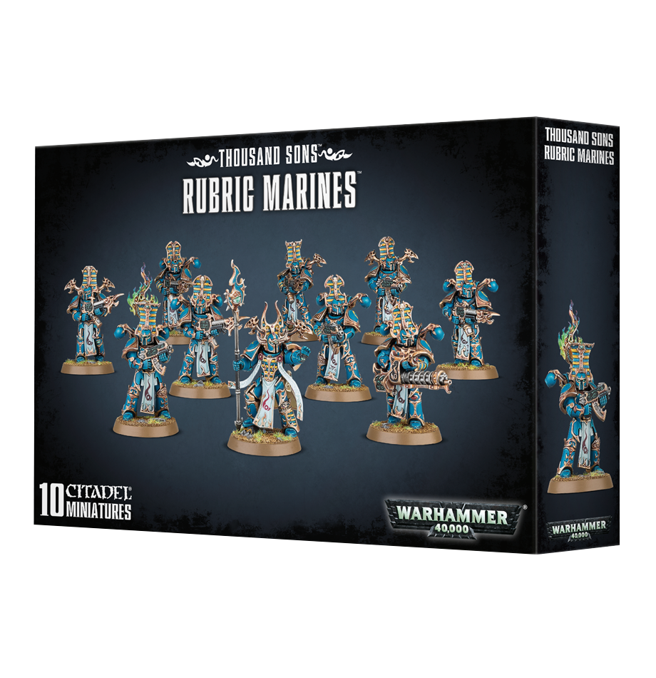 Rubric Marines Chaos Thousand Sons