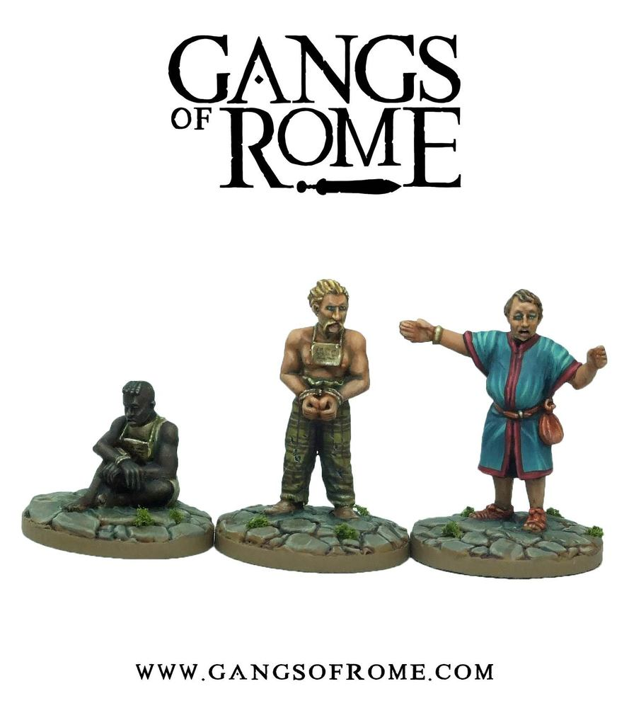 Slave Master & Slaves, Gangs of Rome