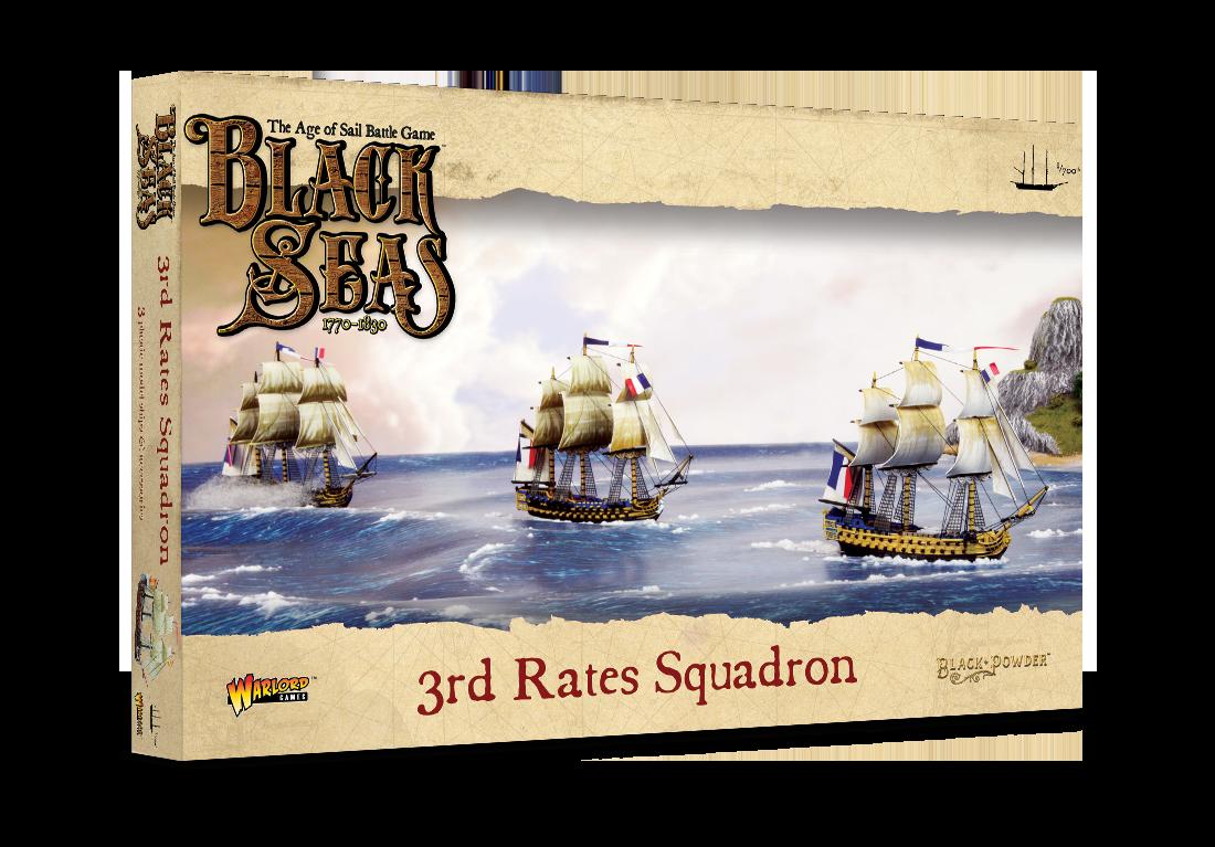 3rd Rates Squadron, Black Seas