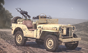 Willys MB ¼ ton 4x4 Truck (Commonwealth), Rubicon Models