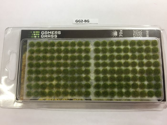 Bright Green Tufts 2mm, Gamer's Grass