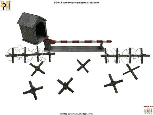 Checkpoint & Barrier Set, Sarissa Precision