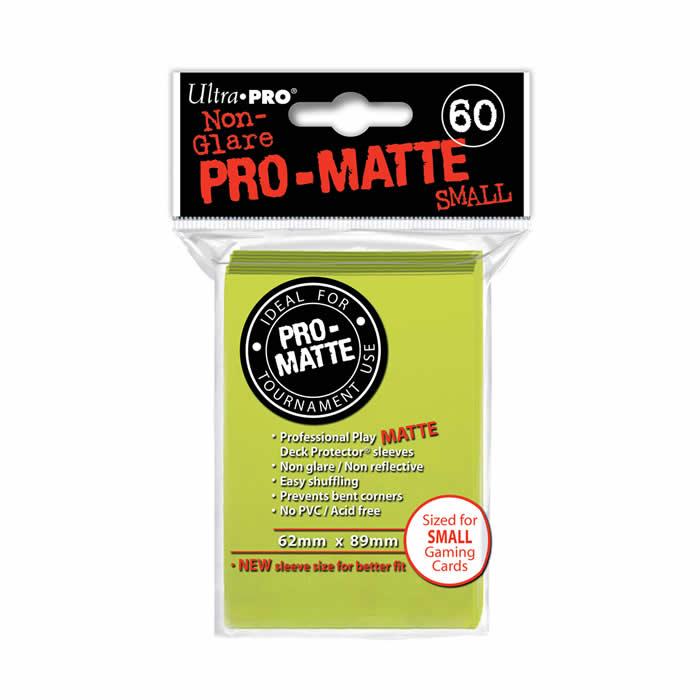 Pro Matte Sleeve x 60 62mm X 89mm