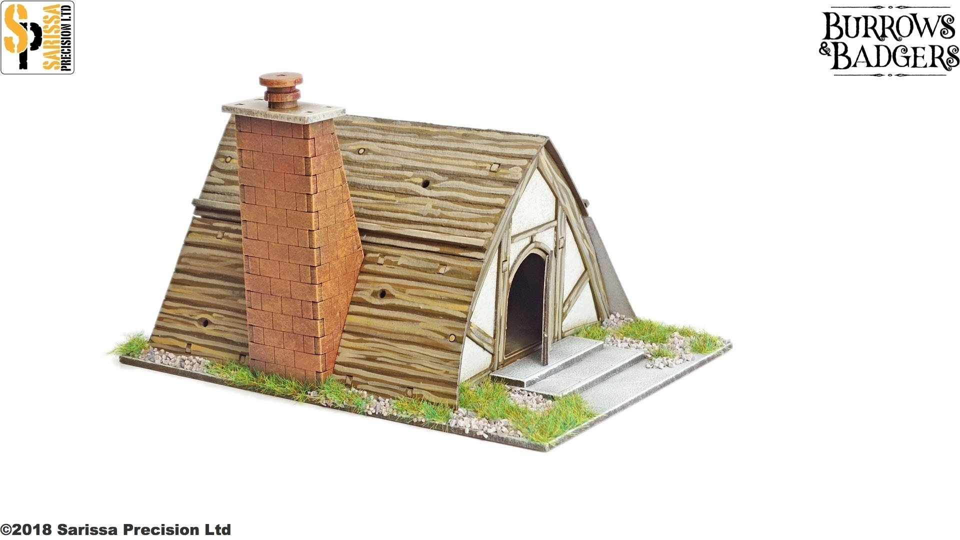 Prickly Jane's Cottage, Sarissa Precision
