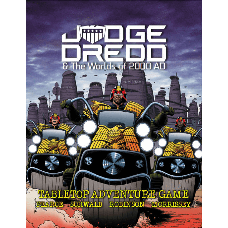 Judge Dredd & The Worlds of 2000AD Roleplaying Game
