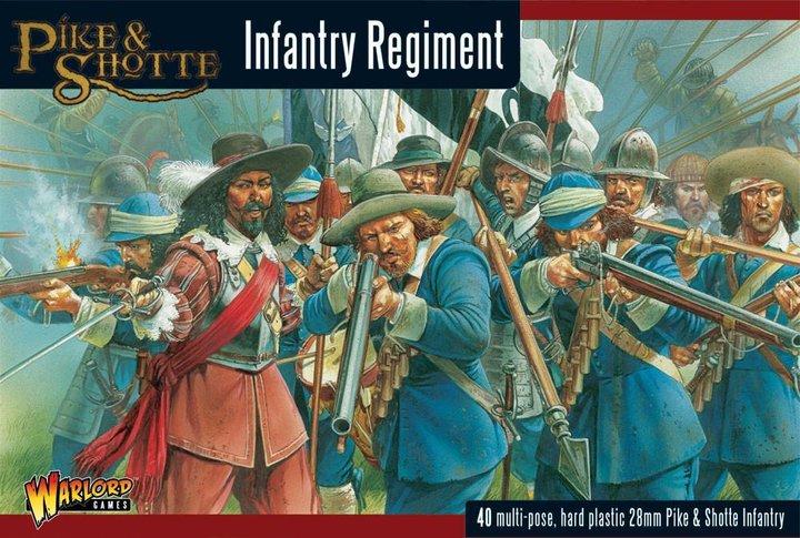 Infantry Regiment, Pike and Shotte
