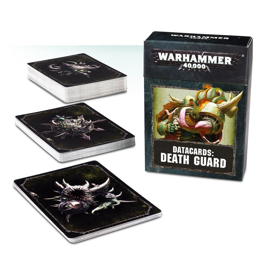 Death Guard Datacards