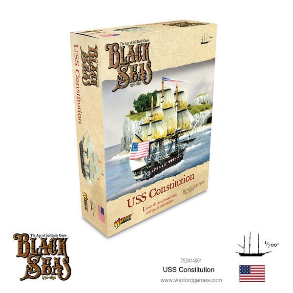 USS Constitution, Black Seas