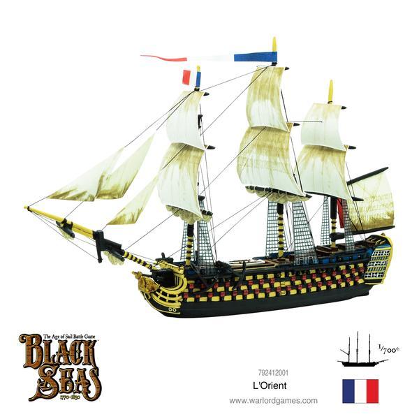 L'Orient, Black Seas