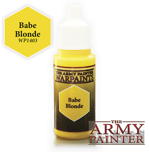 Babe Blonde, Army Painter