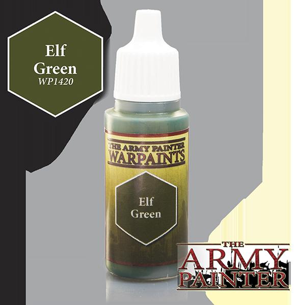 Elf Green, Army Painter