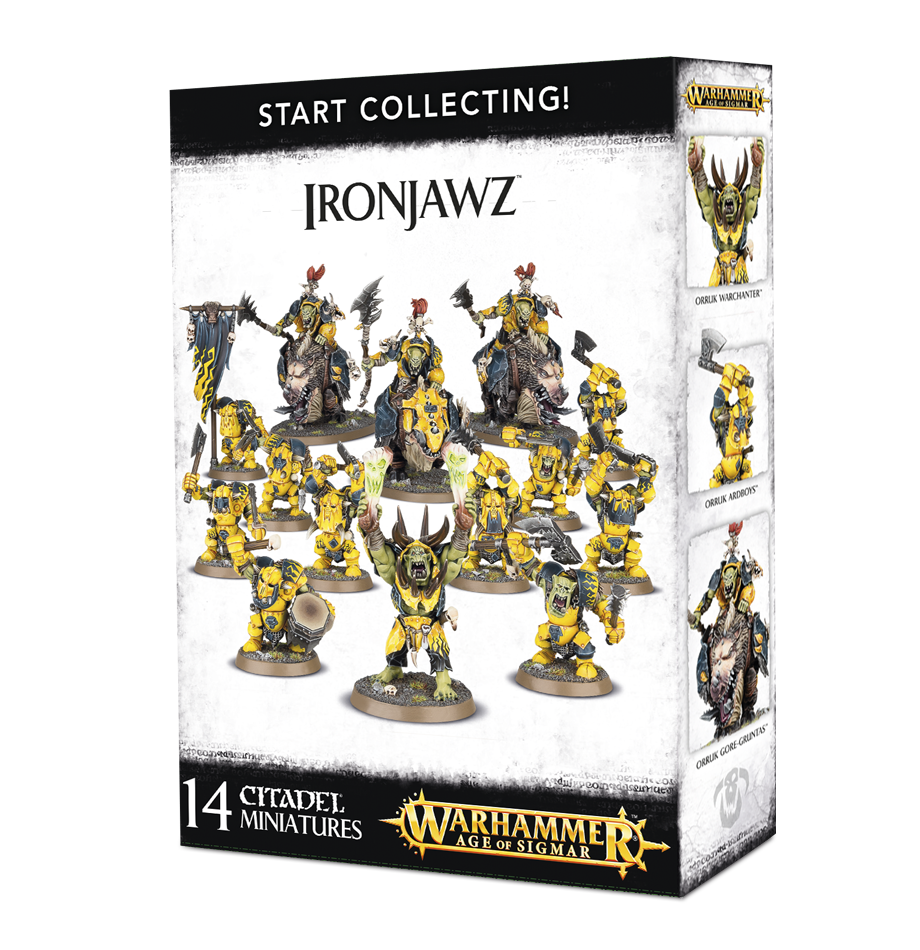 Ironjawz, Start Collecting