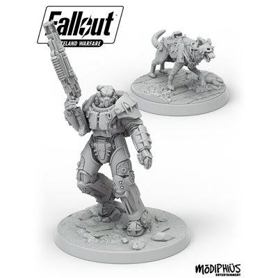 X-01 Survivor & Dogmeat, Fallout Wasteland
