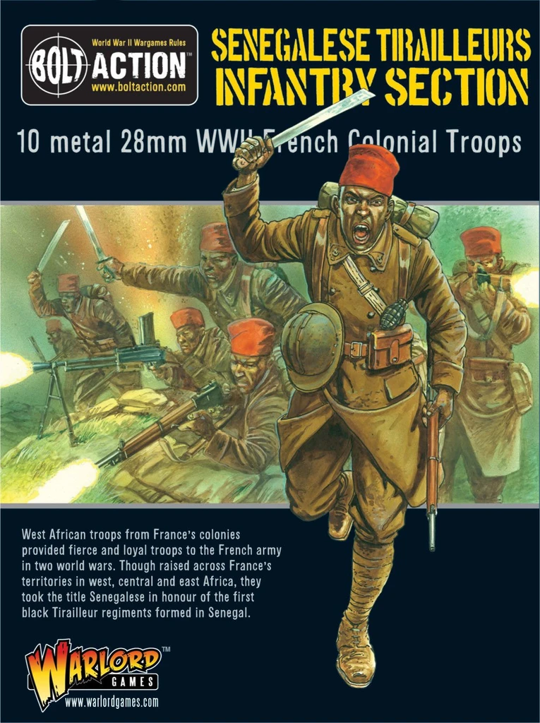 Senegalese Tirailleurs Infantry Section
