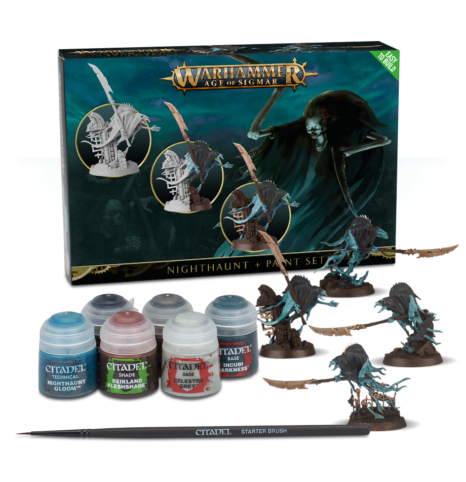 Nighthaunt Paint Set Age of Sigmar