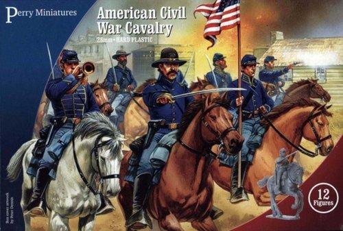 Cavalry, American Civil War, Perry Miniatures