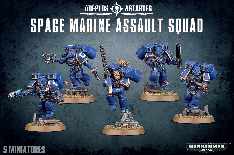 Assault Squad, Space Marine