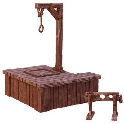 Gallows and Stocks, Terrain Crate