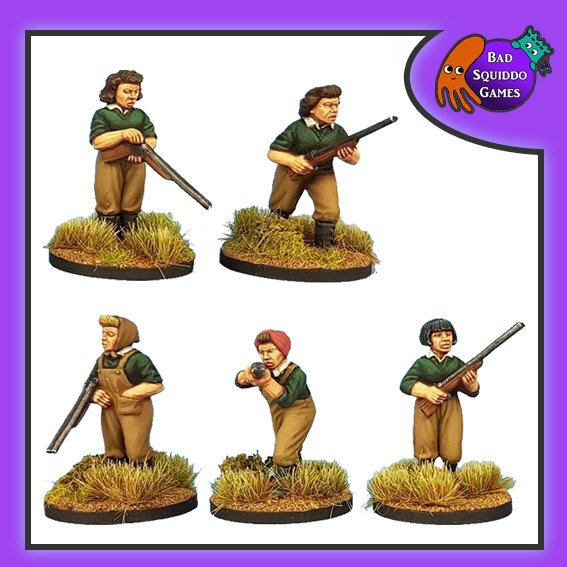 Women's Land Army (Shotguns), Bad Squiddo Games