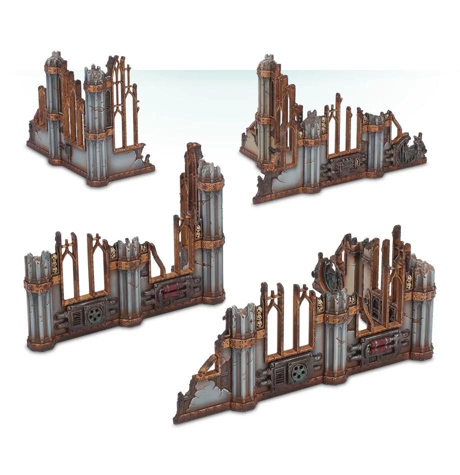 Sector Imperialis Ruins, Terrain