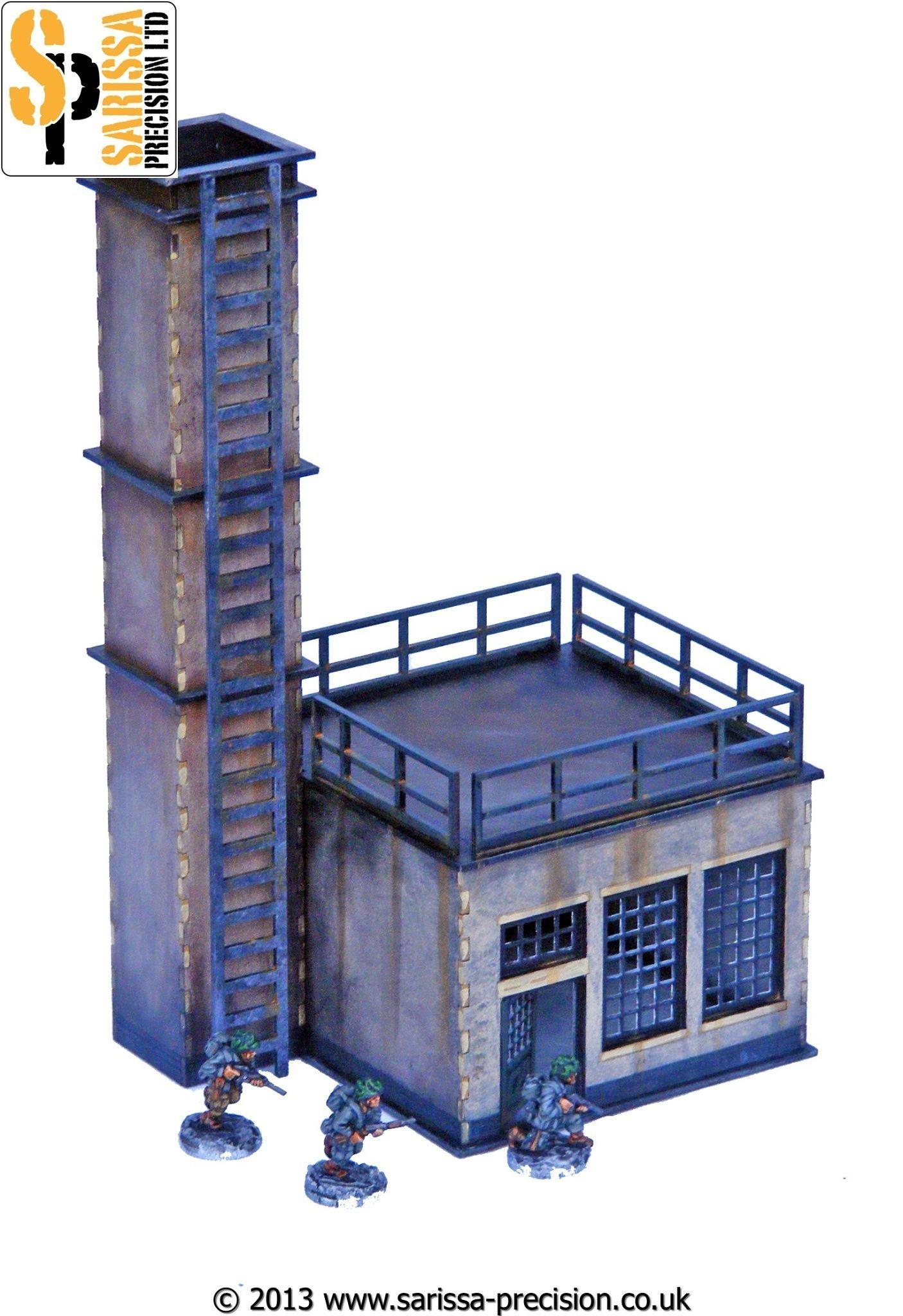 Factory - Power Room, Sarissa Precision