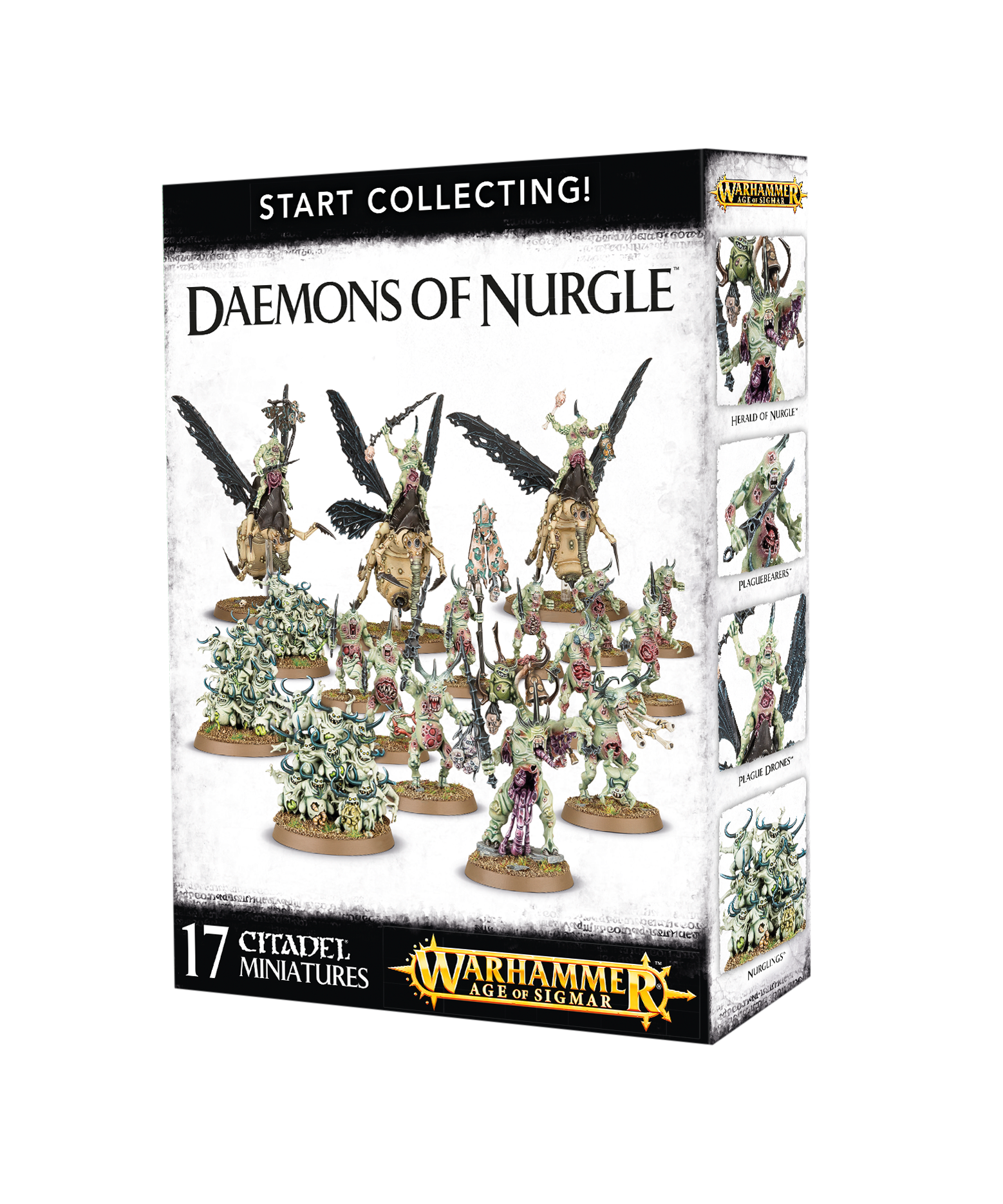 Daemons of Nurgle, Start Collecting