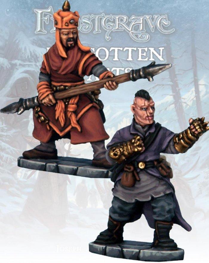 Monk & Mystic Warrior, Frostgrave