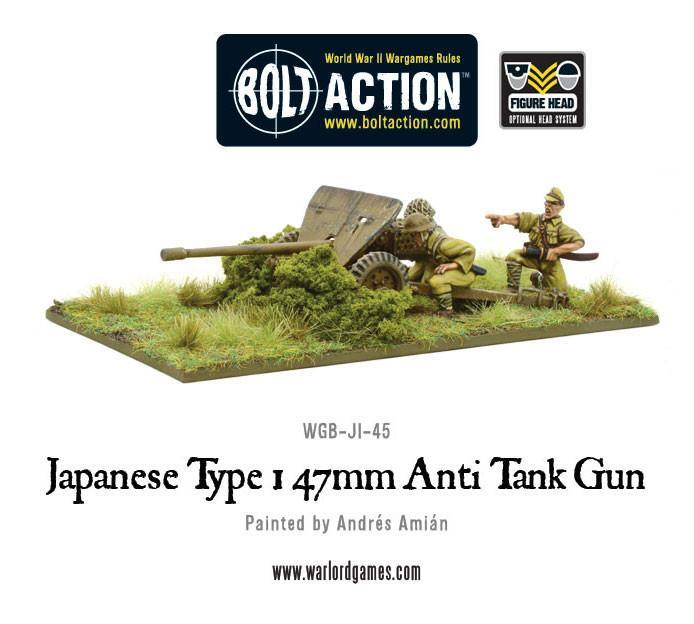 Japanese Type 1 47mm Anti Tank Gun
