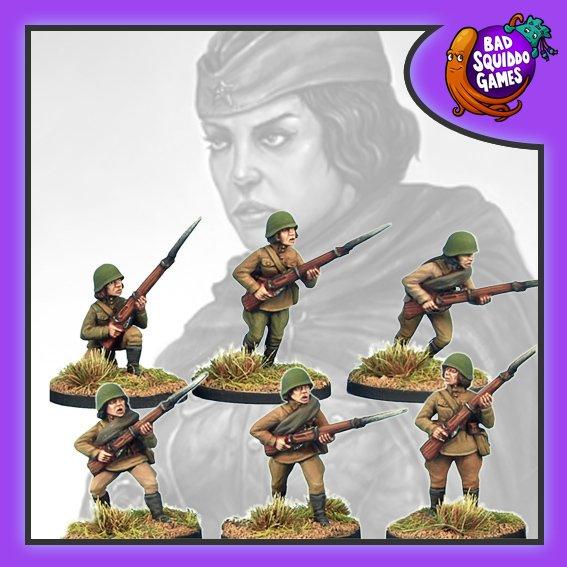 Soviet Riflewomen, Bad Squiddo Games