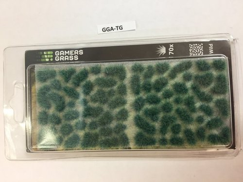 Alien Turquoise Tufts 6mm, Gamer's Grass