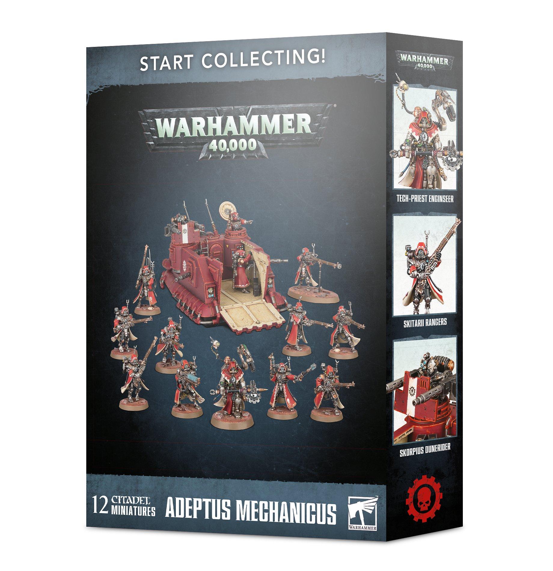Adeptus Mechanicus (New), Start Collecting