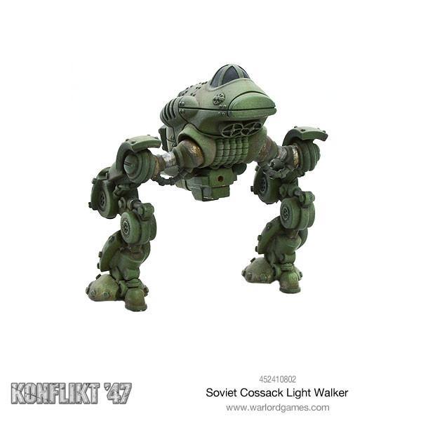 Soviet Cossack Light Walker