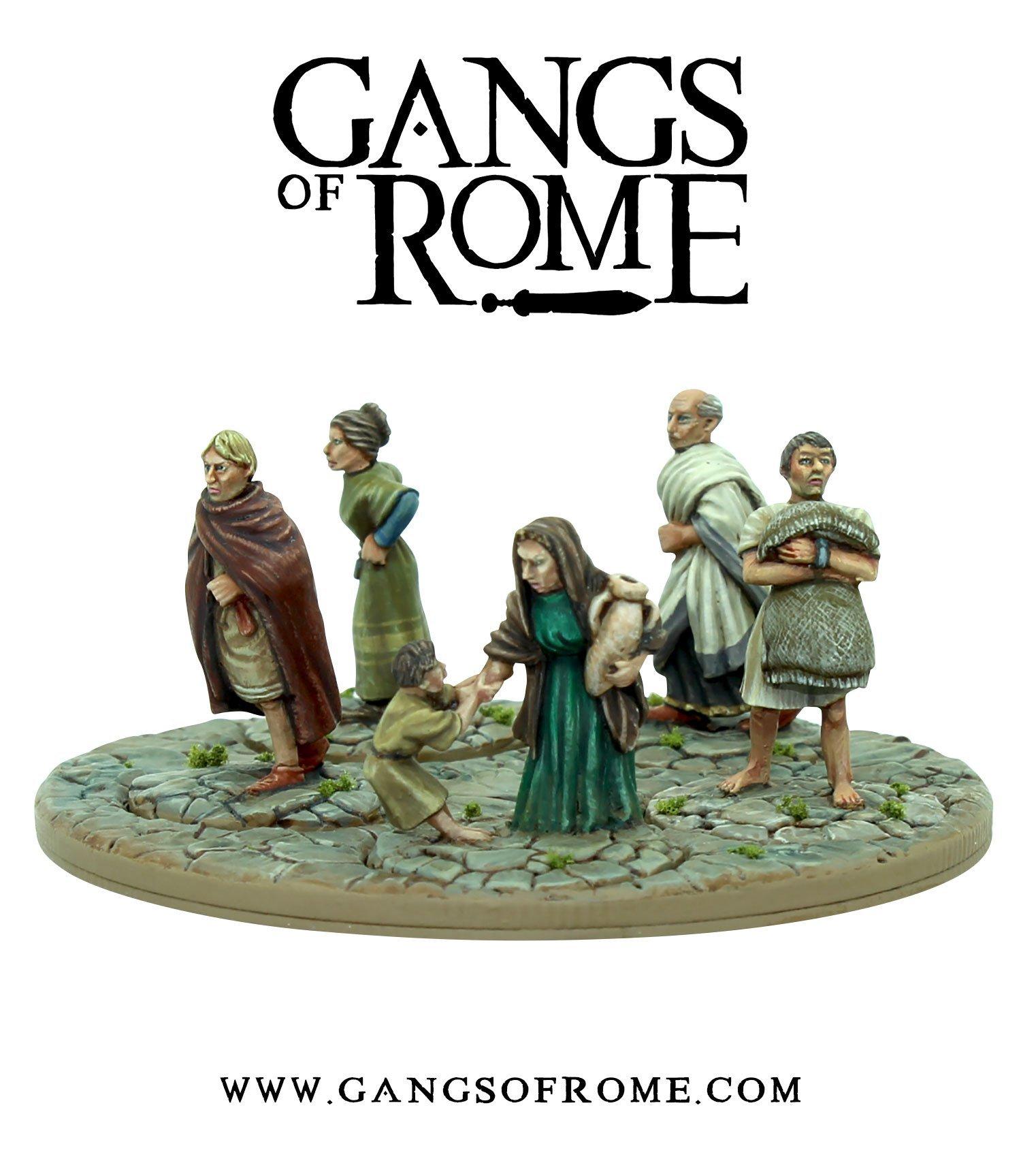 Mob Secundus, Gangs of Rome