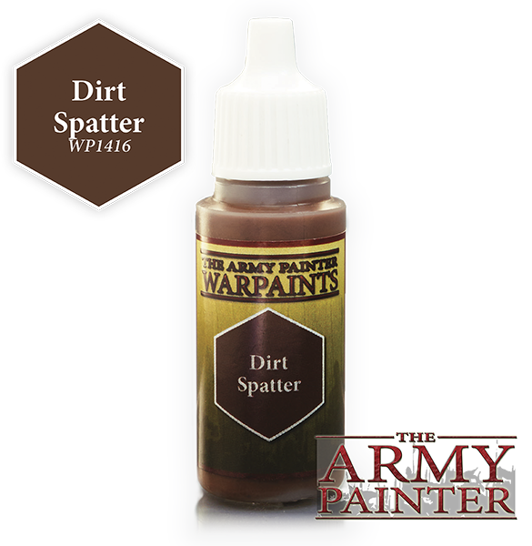 Dirt Spatter, Army Painter